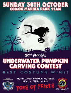 20th Annual Underwater Pumpkin Carving Contest